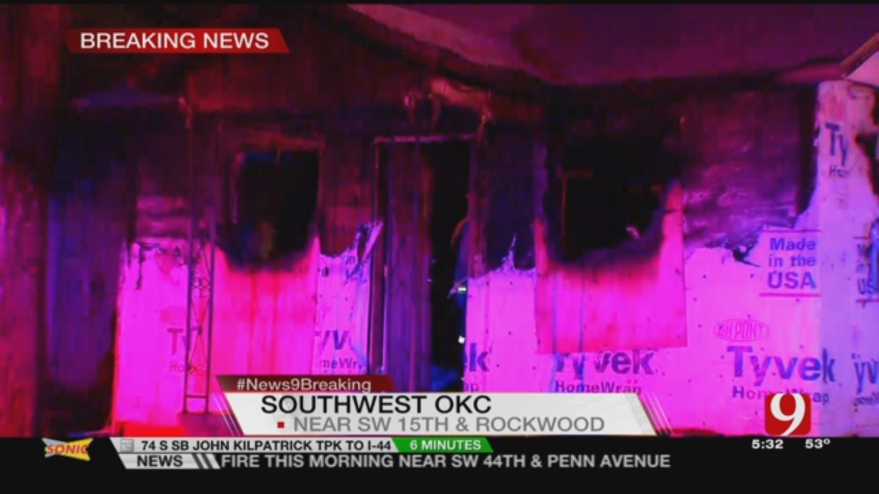Crews Extinguish Vacant House Fire In SW OKC