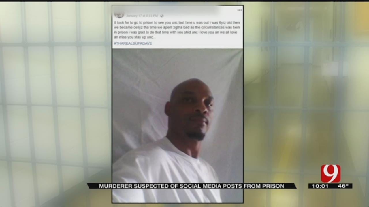 Oklahoma Murderer Suspected Of Social Media Posts From Prison