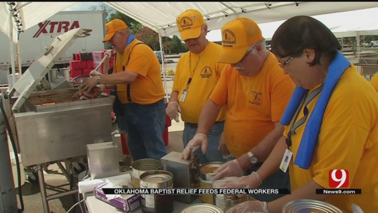 Oklahoma Baptist Disaster Relief Volunteers Prepare To Help Federal Workers