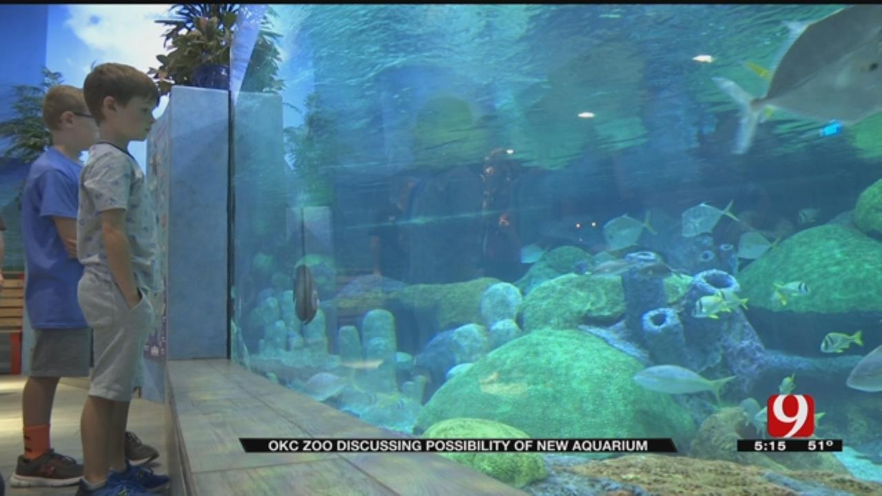 OKC Zoo Pushes For New Aquarium
