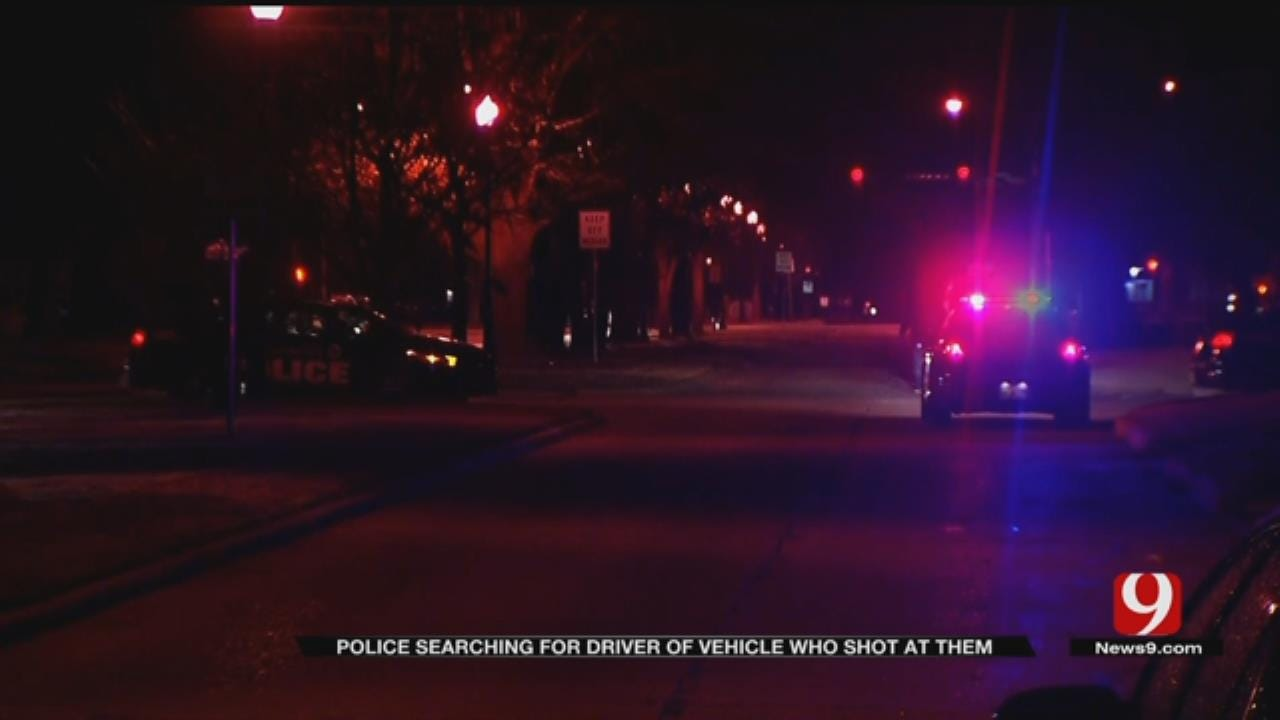 Trailer Theft Suspect Opens Fire On OKC Officer