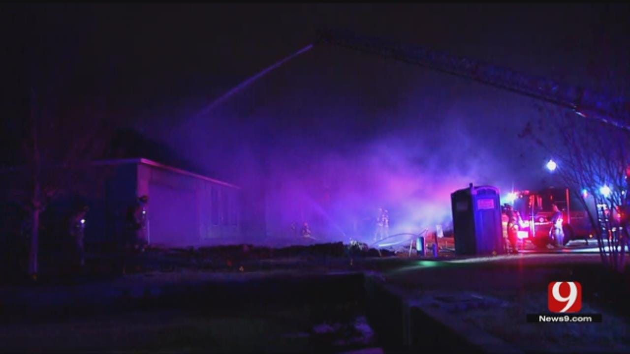 OKC Fire Department Responding To House Fire In Nichols Hills