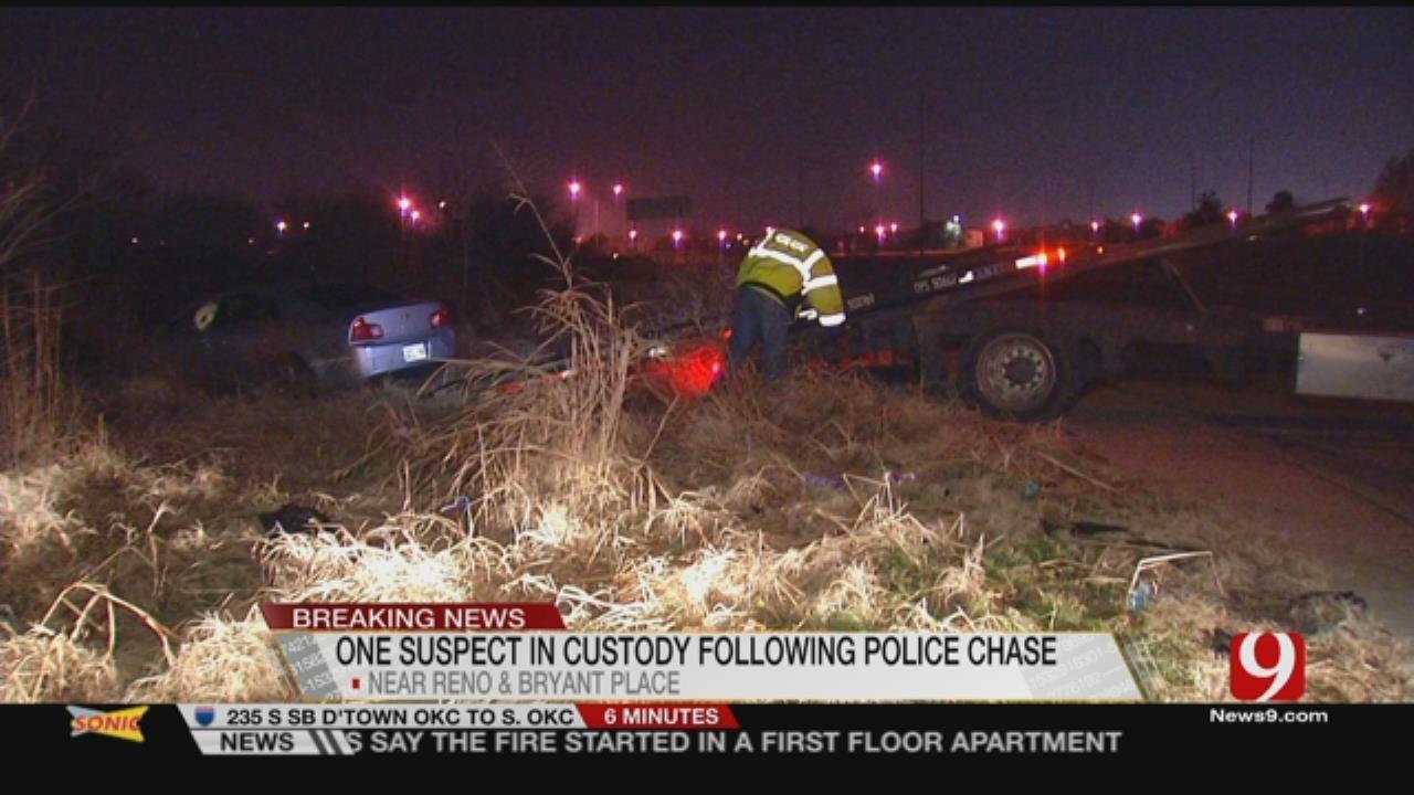 1 In Custody Following High Speed Chase In OKC