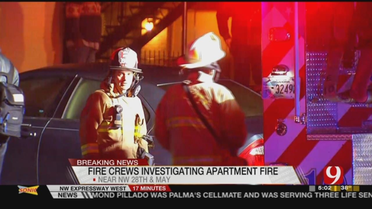 Cause Of Overnight OKC Apartment Fire Under Investigation