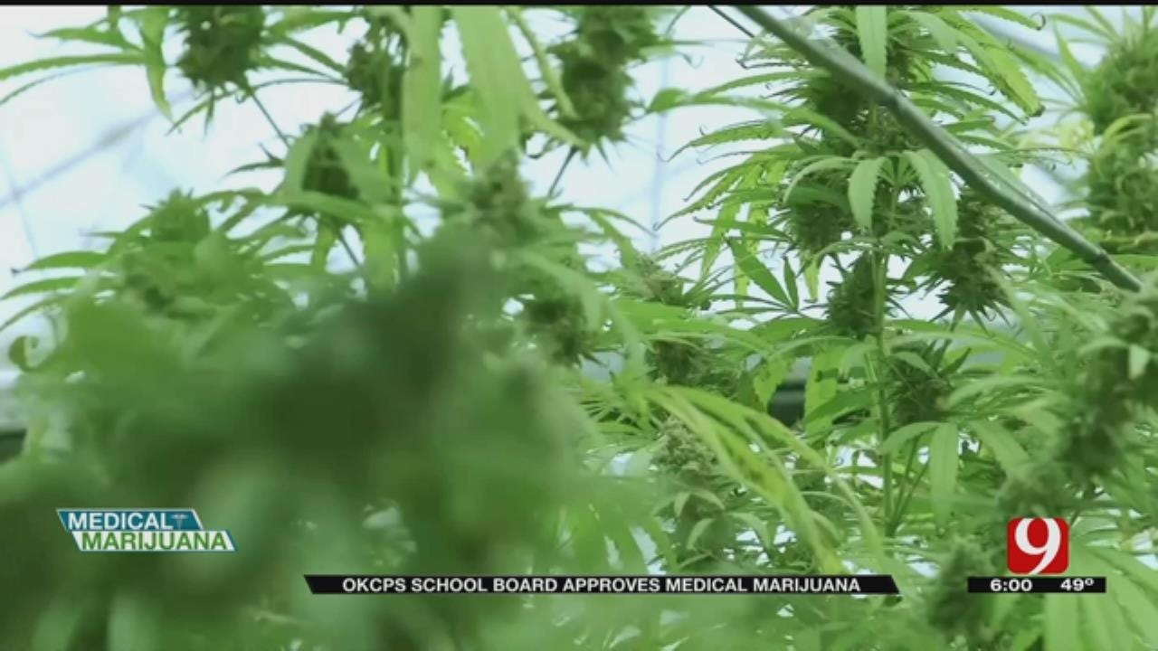 OKCPS School Board Approve Medical Marijuana Use For Students
