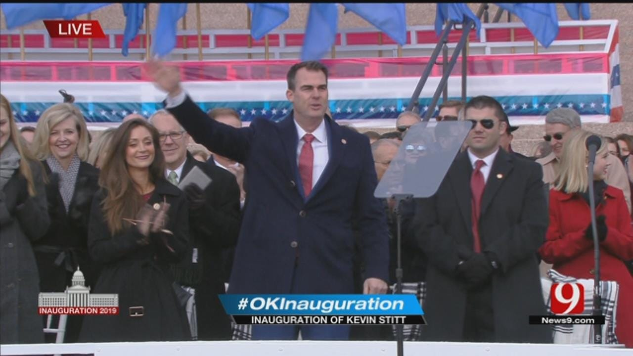 Kevin Stitt Sworn In As Oklahoma's 28th Governor
