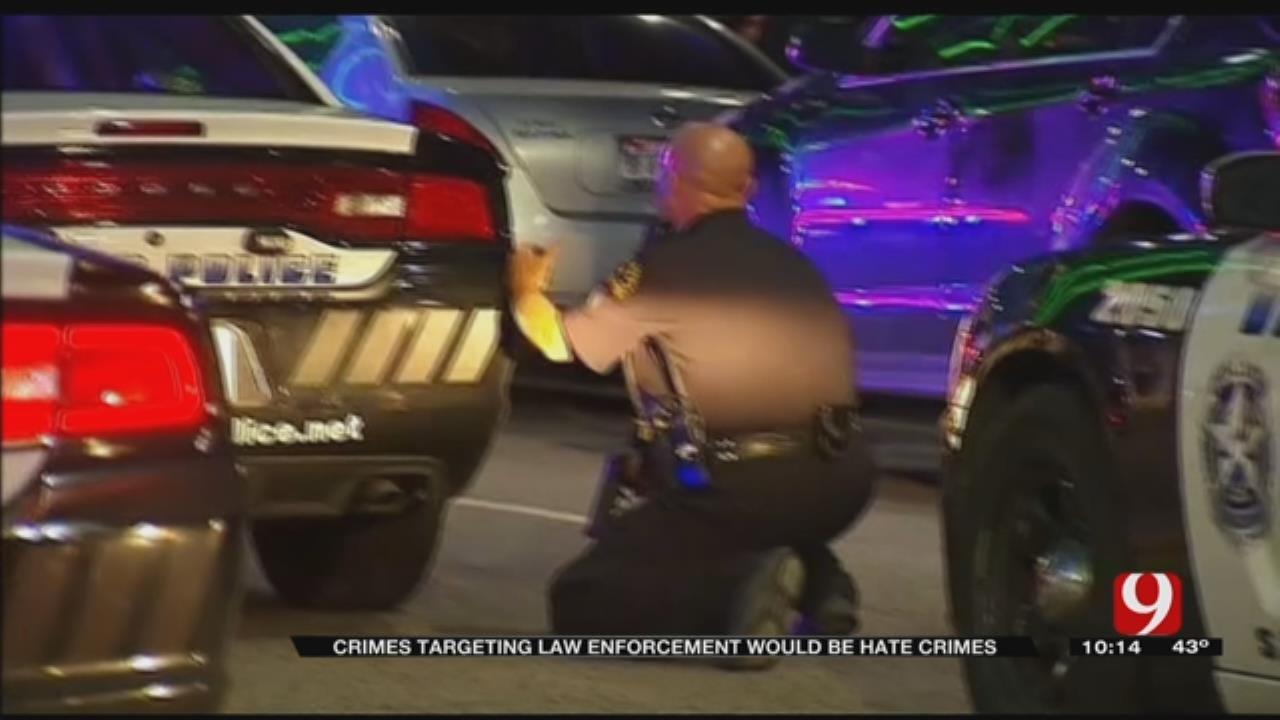 Oklahoma Senator Files Bill To Make Crimes Targeting Law Enforcement Hate Crimes
