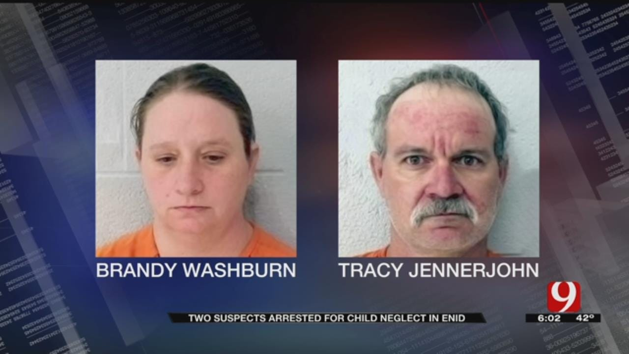 2 Adults, 1 Juvenile Arrested After Children Found Living In Deplorable Conditions In Enid