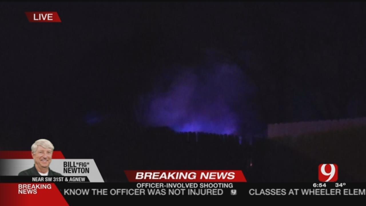 Firefighters Battle SW OKC House Fire