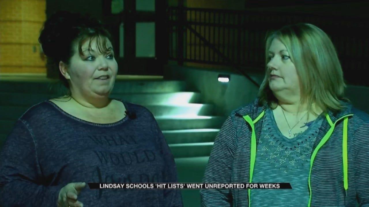 Parents Upset After 'Hit Lists' Went Unreported For Weeks At Lindsay School