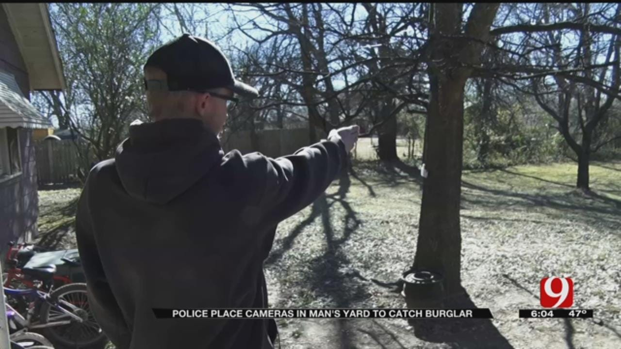 Maud Officer Places Hidden Camera In Man's Yard To Catch Burglar