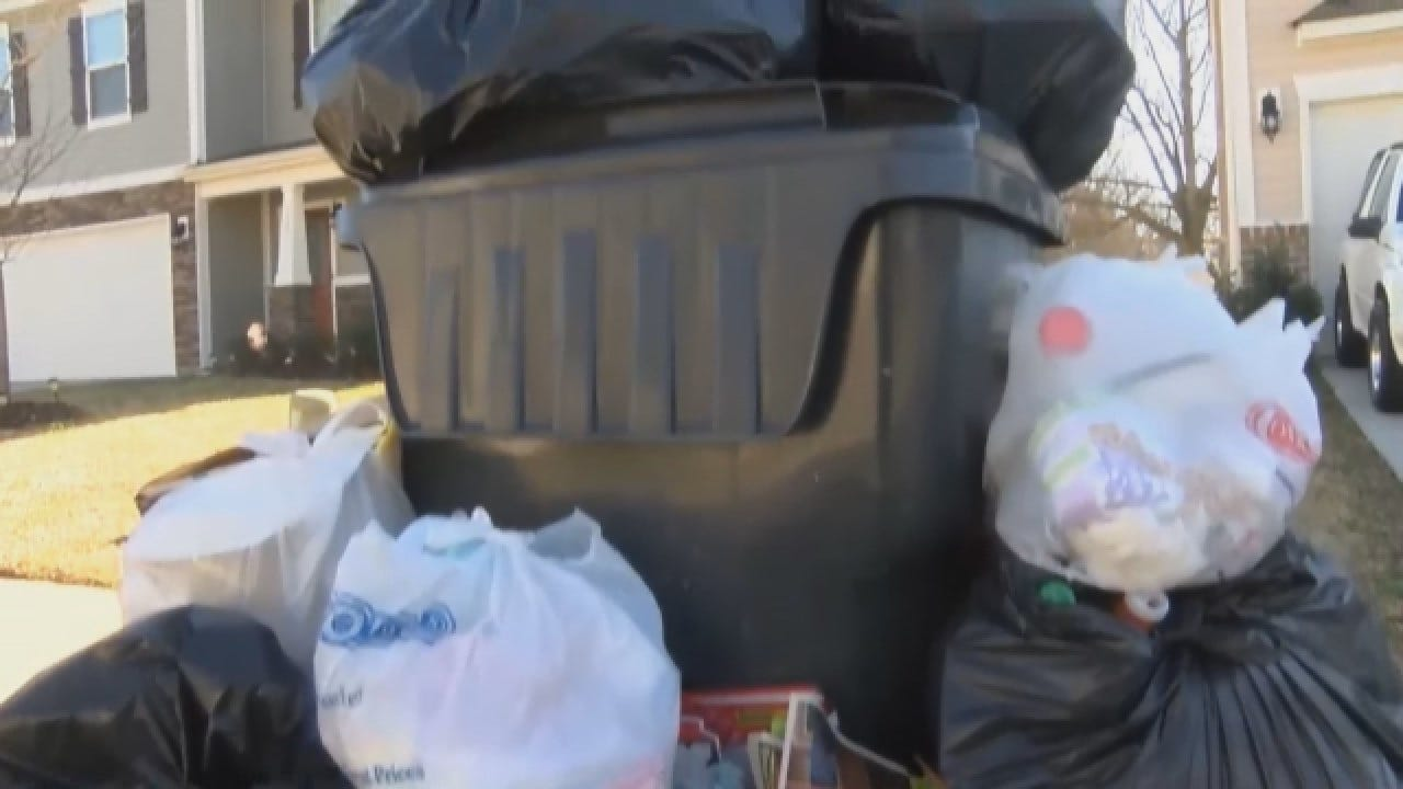 No Trash Pickup Since Before Thanksgiving For One North Carolina Neighborhood