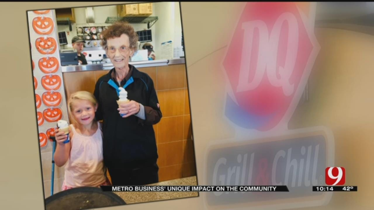 Moore Dairy Queen Fulfills Woman's Last Wish