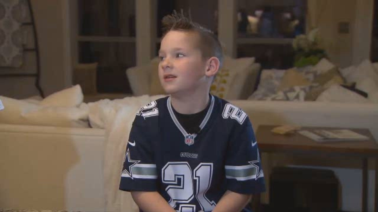Injured Dallas Cowboys Receiver FaceTimes Young Fan Who Penned Heartfelt Letter