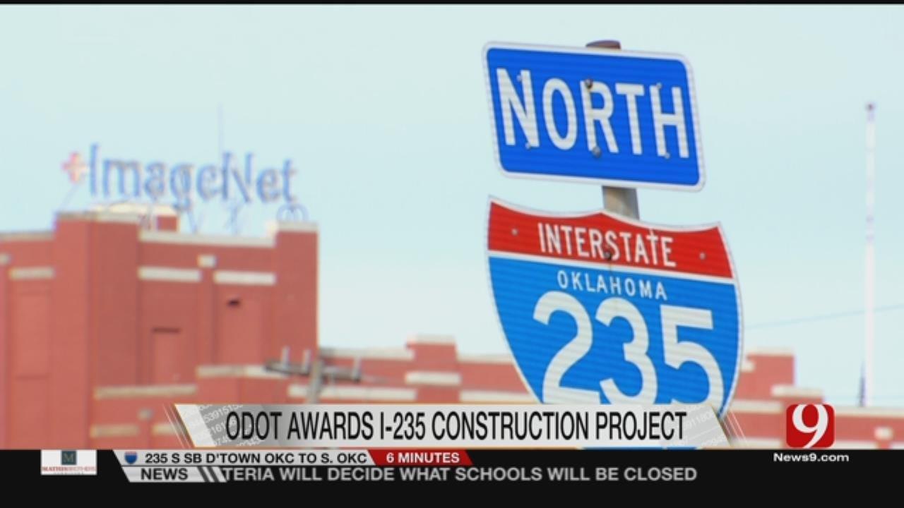 ODOT Awards I-235 Construction Project