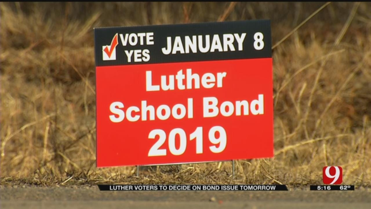 Luther Residents To Vote On School Improvements During Tuesday's Election
