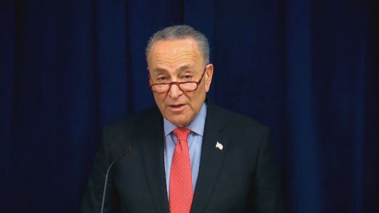 Schumer Says Shutdown Affects Individuals That Rely On Government Resources