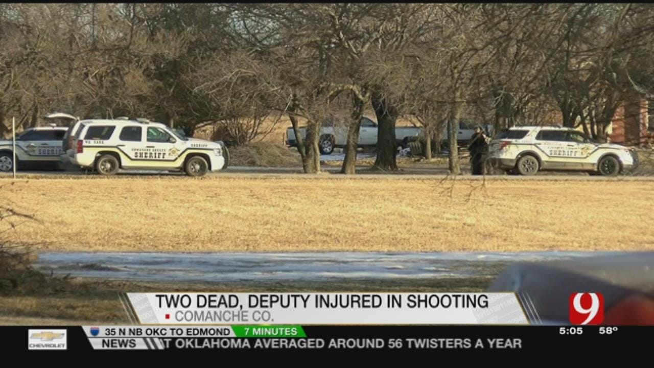 2 Dead, Officer Wounded In Sunday Shooting Near Cache