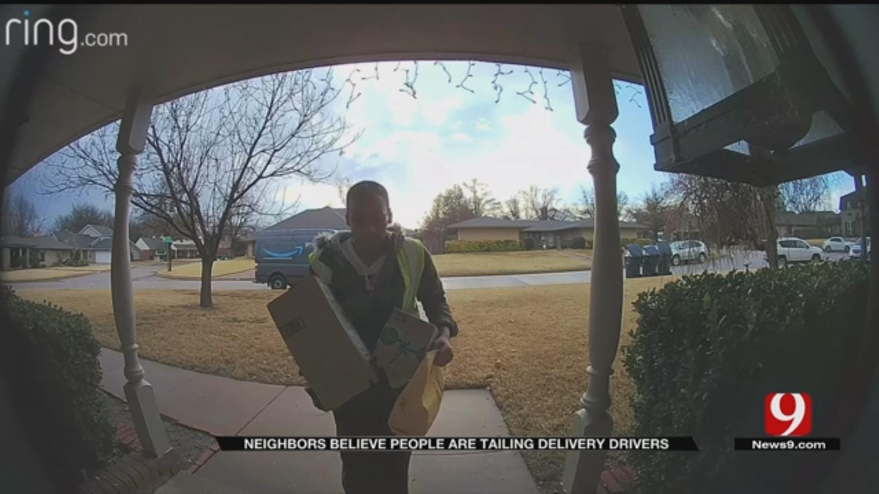 OKC Residents Believe Porch Pirates Are Tailing Delivery Drivers