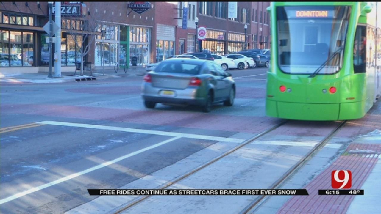 OKC Street Car Service Extends Its Free Trial Period