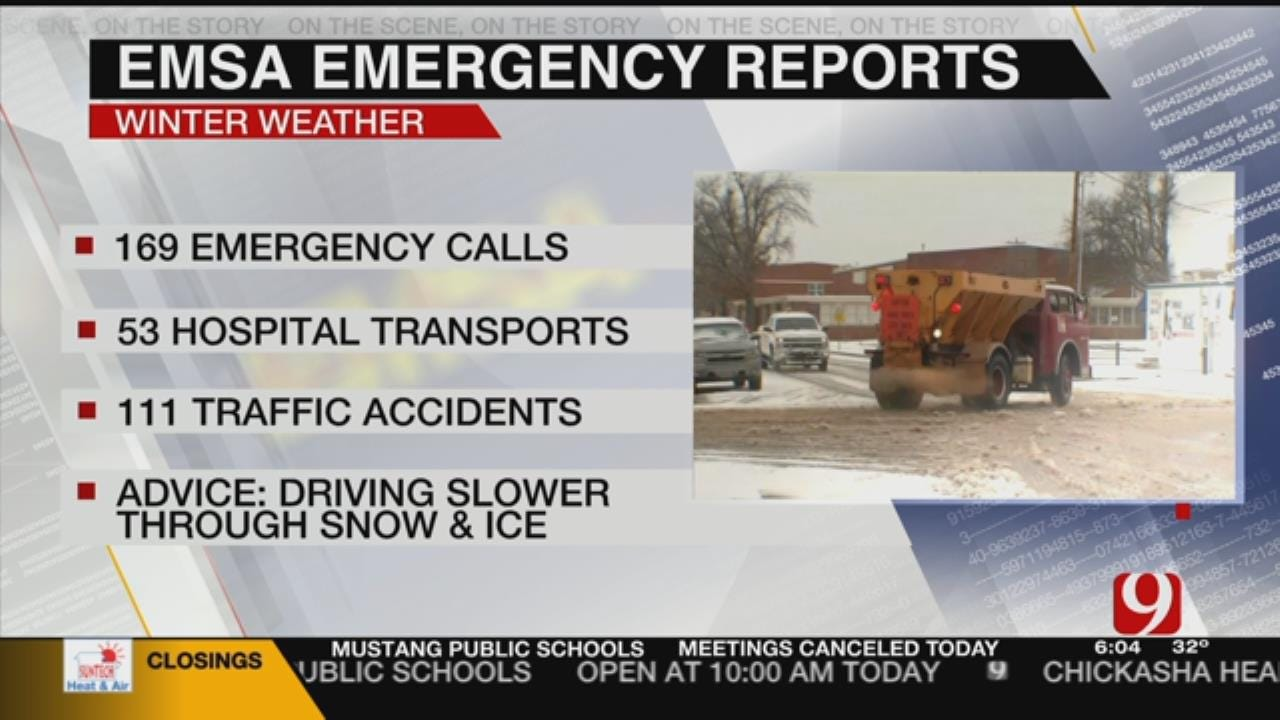 EMSA CEO Provides Insight On Driving On Icy Roads