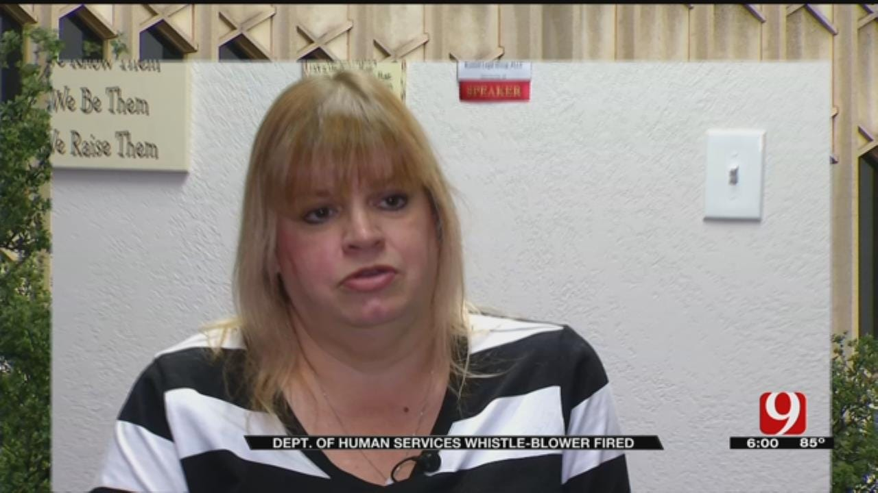 Oklahoma DHS Whistleblower Fired
