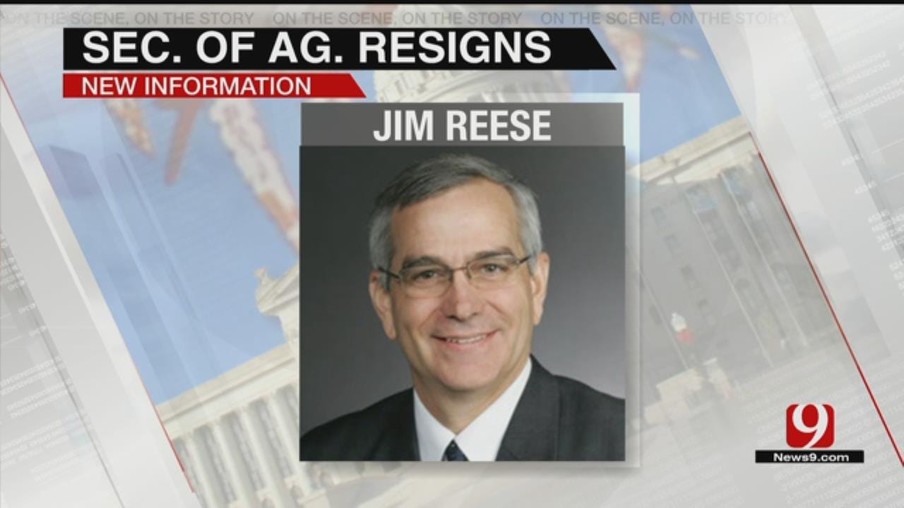 Fallin's Secretary Of Agriculture Steps Down