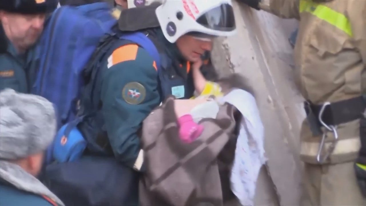 Baby Found Alive In Rubble After Apartment Explosion Killed At Least 7