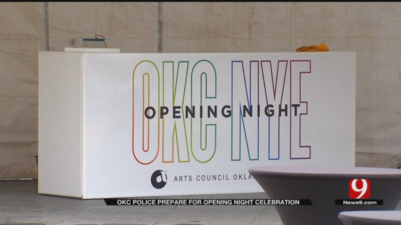 100 Police Officers Will Be In Downtown OKC For Opening Night Festivities