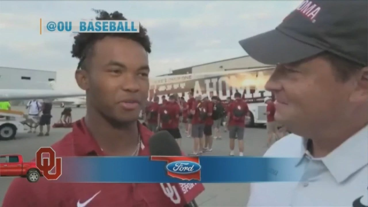 Kyler Murray Gets Drafted In First Round Of MLB Draft