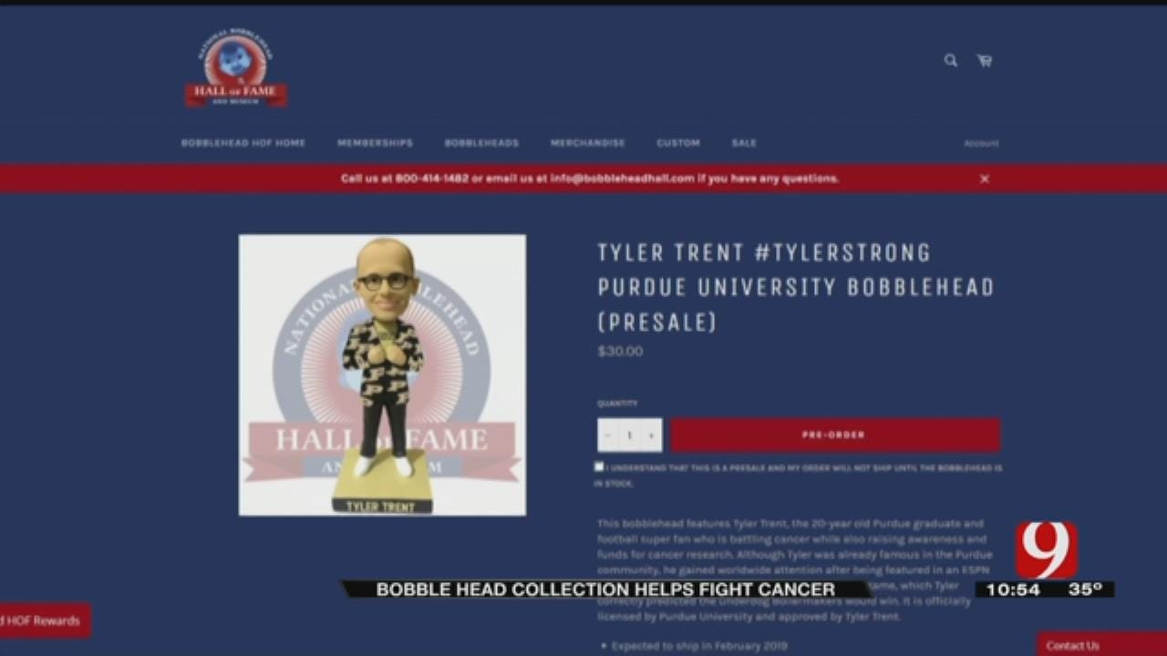 Yukon Man Creates Bobble Head For Purdue 'Superfan' Tyler Trent
