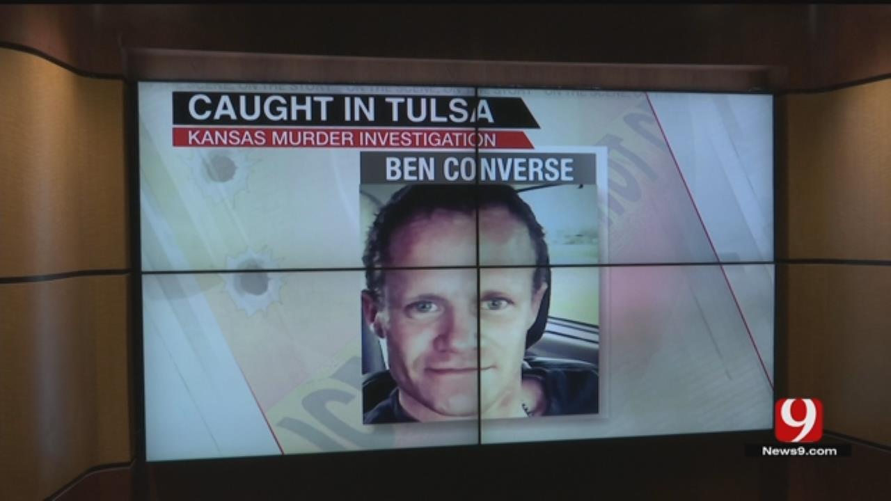 Tulsa PD: Man Sought In Kansas Double Homicide Shot Himself