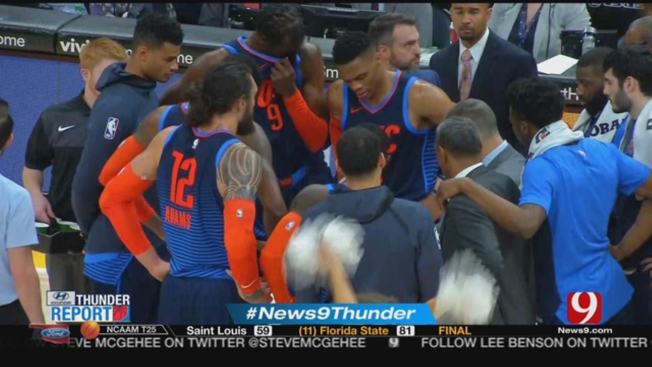 Thunder Report: George Has 43 and 14 As Thunder Hold Off Jazz, 107 -106