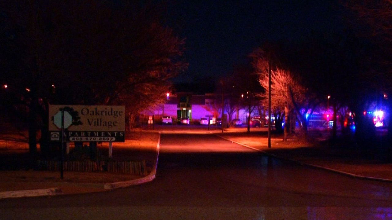 3 Injured In Fire At Del City Apartment