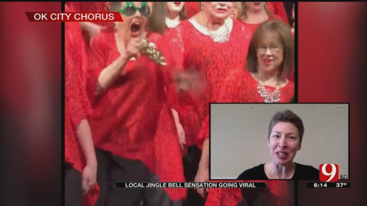 OU Professor Now Known Worldwide As 'Jingle Bell Lady' In Viral Video