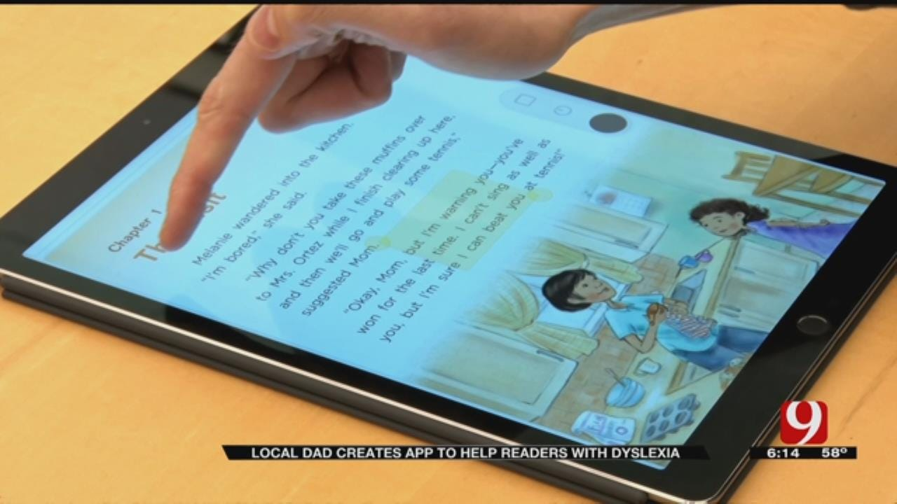 Local Dad Inspired By Son; Creates App To Help People With Dyslexia