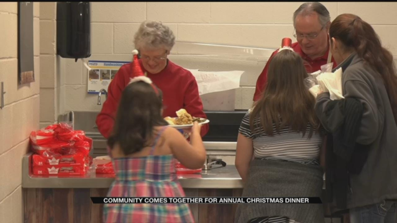 Decades-Old Norman Tradition Brings Food And Toys To Locals On Christmas