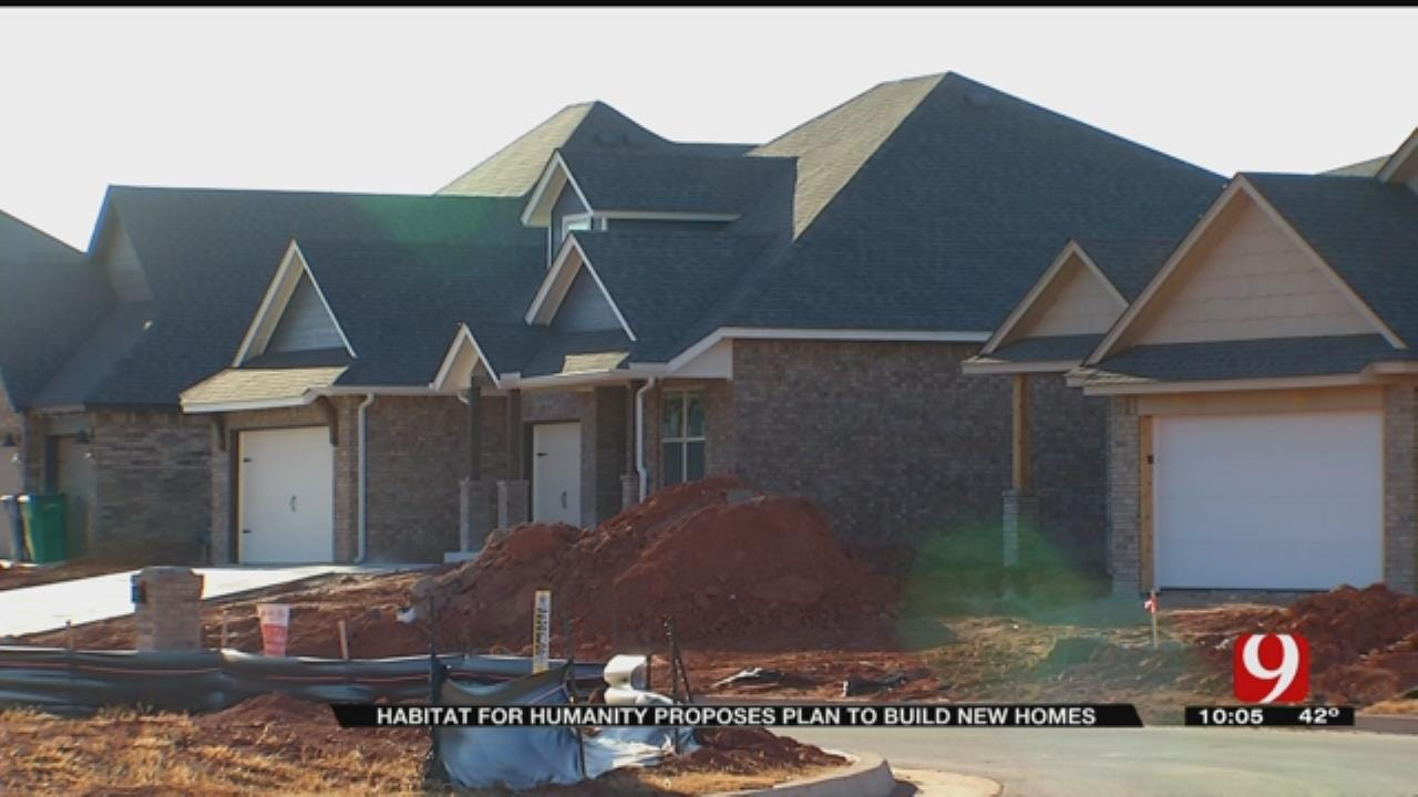 Central Oklahoma's Habitat For Humanity Proposes Plan To Build New Homes