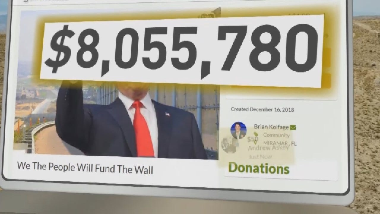Iraq War Vet Turns To GoFundMe To Pay For Border Wall