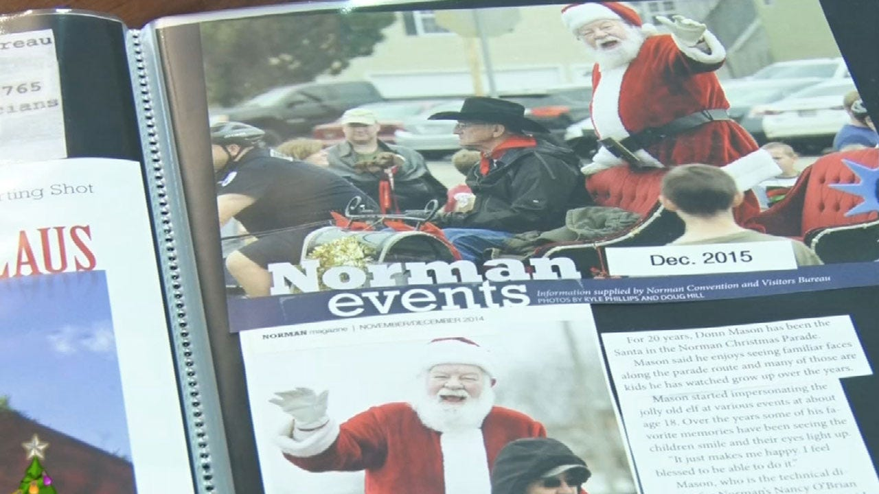 Local Santas Rally To Help Santa Injured In Accident