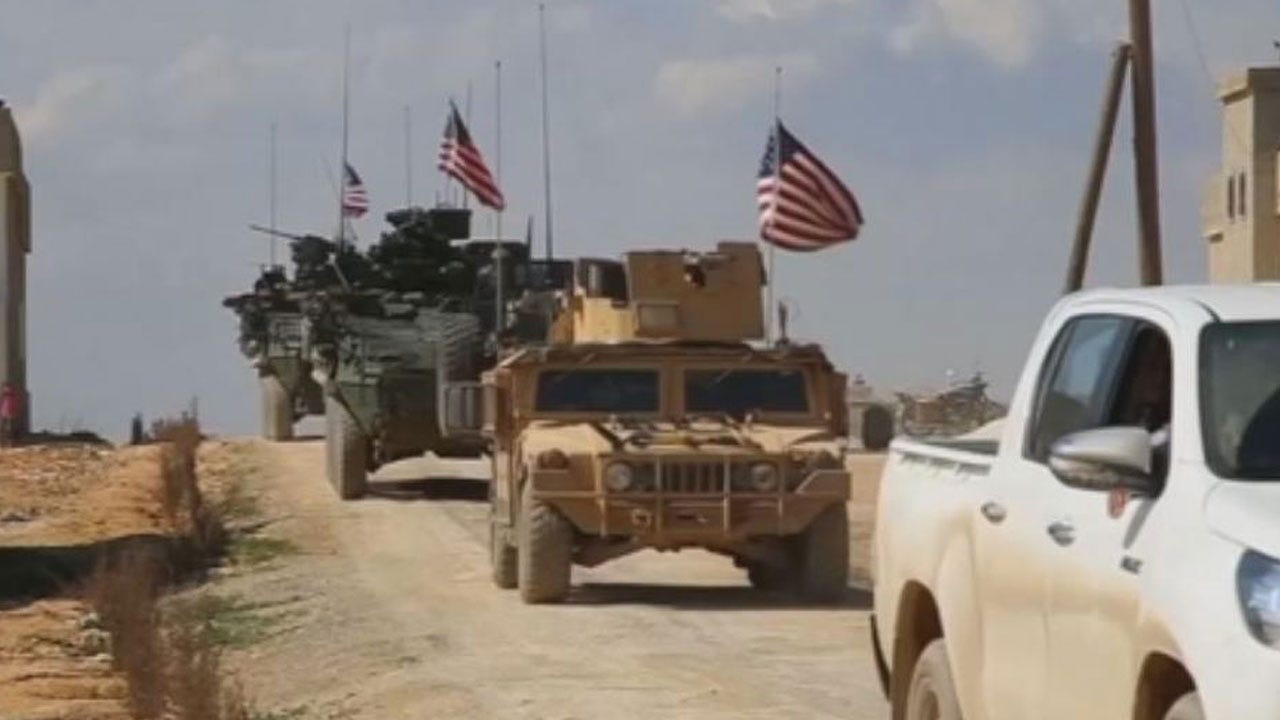 Pres. Trump Pulling Troops Out Of Syria