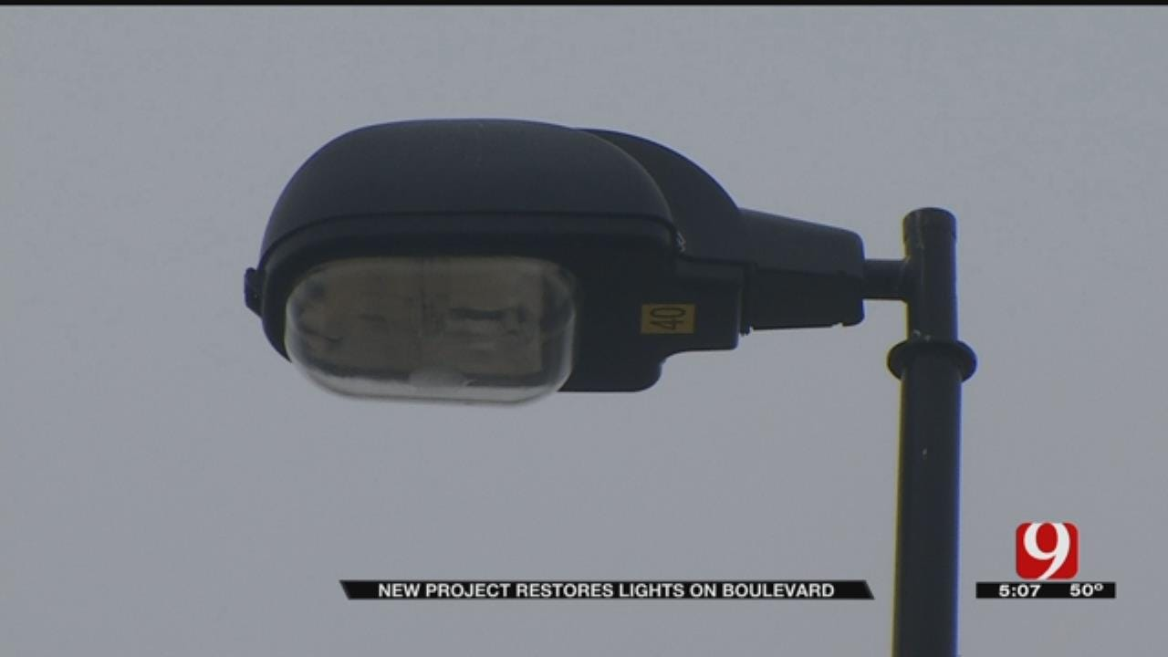 OKC To Repair Street Lights Without Copper