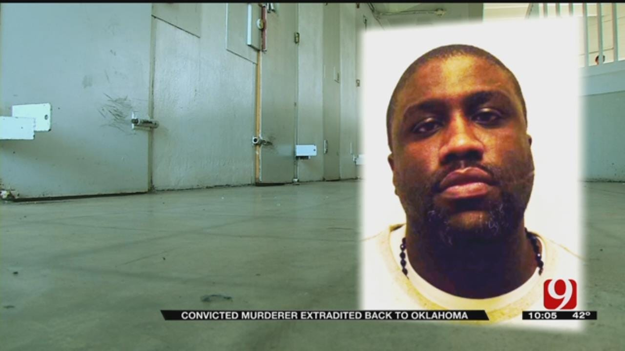 Convicted Murderer Extradited Back To Oklahoma