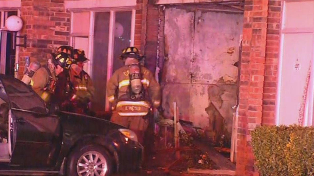 Crews Respond To Fire At Biltmore Hotel In SW OKC