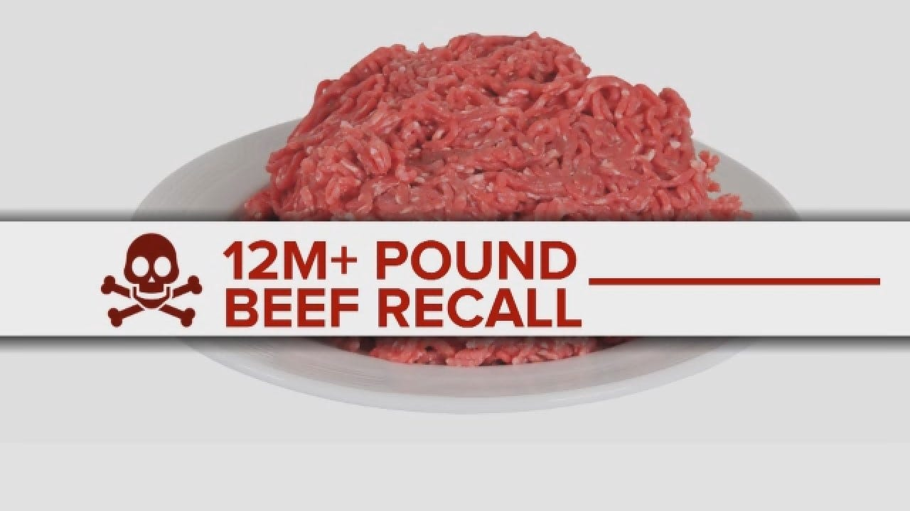 More Than 12 Million Pounds Of Ground Beef Has Been Recalled