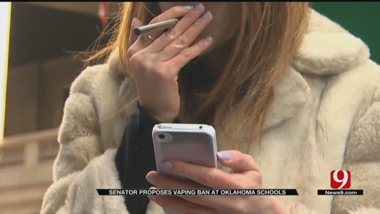 Senator Proposes Vaping Ban At Oklahoma Schools