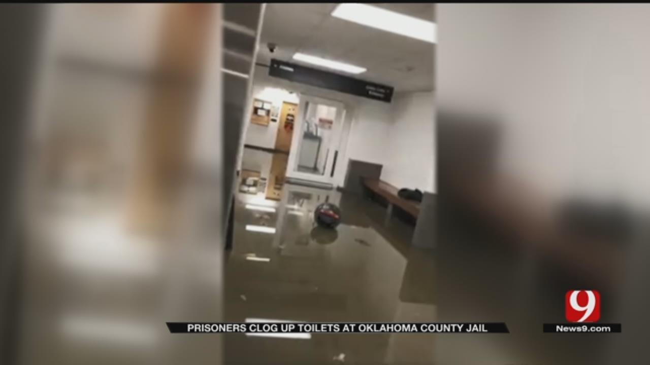 Inmates At Oklahoma County Jail Flood Building With Raw Sewage
