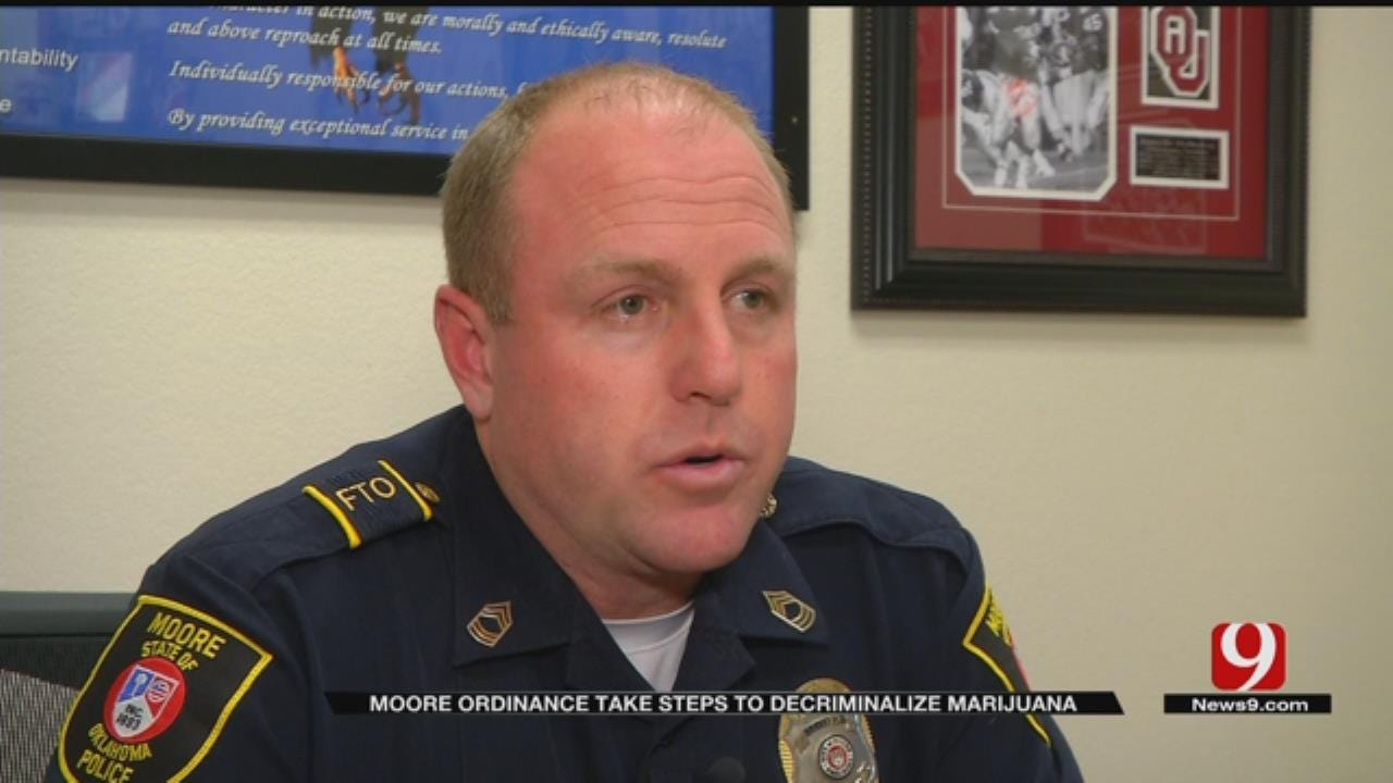 City Of Moore Hopes To Reduce Incarceration Rates After Voting To Decriminalize Marijuana
