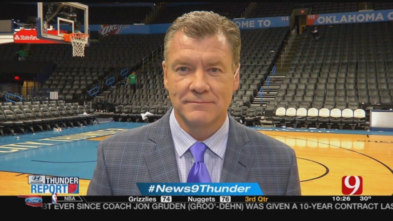 Thunder Reporter Steve McGehee Recaps OKC's Win Over Jazz