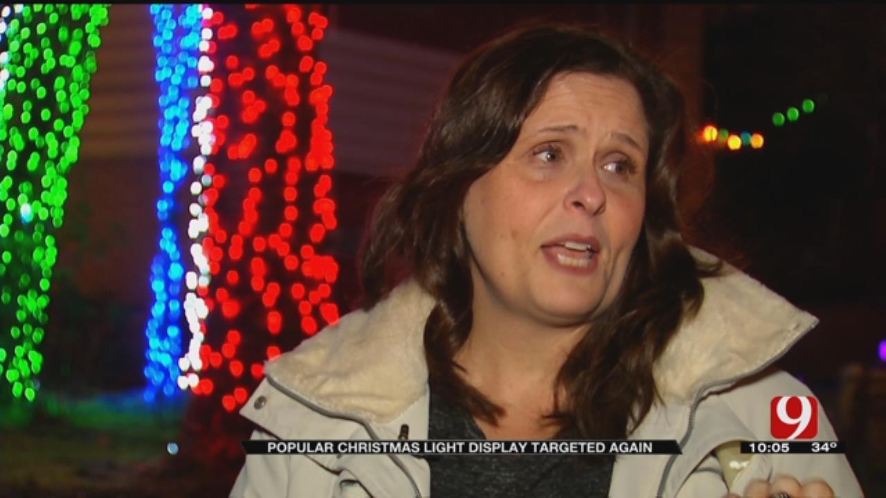 Popular Neighborhood Christmas Display Hit by Thieves